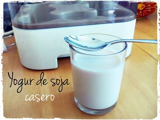 ¿Cómo hacer yogures de Soja caseros?