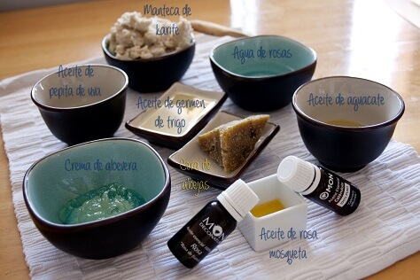 Crema rostro ingredientes