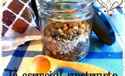 envase de cristal con plantas medicinales